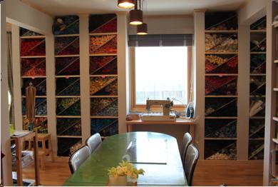 グロナトレッド「絵織りの教室」